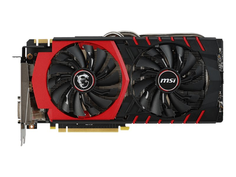 Microstar Geforce GTX 980 PCIe 3.0 x16 Overclocked Graphics Card, 4GB GDDR5, GTX 980 GAMING 4G, 17881916, Graphics/Video Accelerators