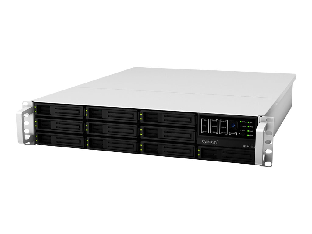 Synology RackStation RS3412RPXS Network Attached Storage, RS3412RPXS, 13683613, Network Attached Storage