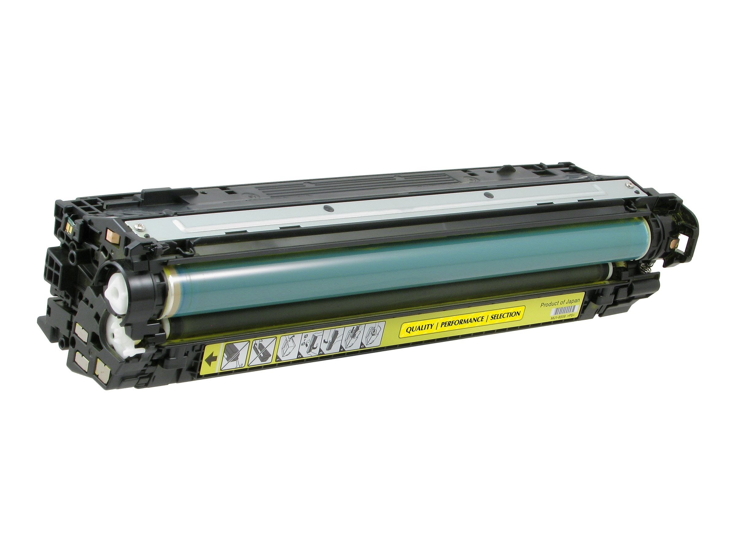 V7 CE742A Yellow Toner Cartridge for Hp Color LaserJet CP5520, V75220Y