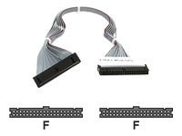 Supermicro Internal IDE ATA100 Cable for DVD-ROM Drive, 13.8in, CBL-0134L, 8685374, Cables