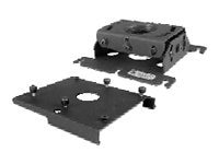 Chief Manufacturing RPA Custom Projector Mount w  SLB115, Black