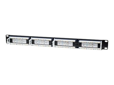 Intellinet Intellinet 24-Port 1U Cat5e Patch Panel, 513555, 16804417, Patch Panels