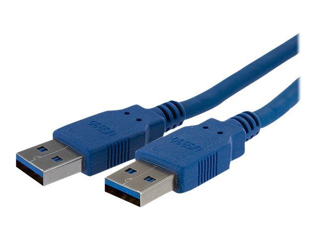 StarTech.com Super Speed USB 3.0 Cable, USB Type A (M-M), Blue, 6ft, USB3SAA6