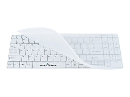 Seal Shield Cleanwipe Waterproof Wireless Keyboard, SSKSV099W, 31079209, Keyboards & Keypads