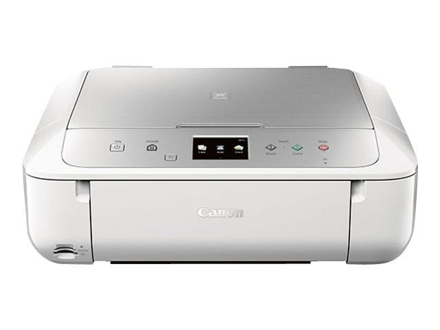 Canon PIXMA MG6822 Photo All-In-One Inkjet Printer - White Silver, 0519C062, 30568027, MultiFunction - Ink-Jet