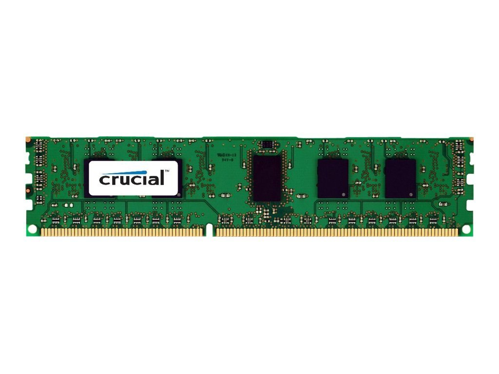 Crucial 6GB PC3-12800 240-pin DDR3 SDRAM RDIMM Kit, CT3K2G3ERSLS8160B, 18439960, Memory