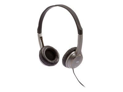 Cyber Acoustics K-12 Kid Sized Stereo Headphones with Reduced Sound Level, ACM-7000