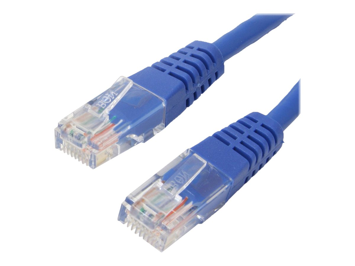 4Xem Cat6 Molded UTP Patch Cable, Blue, 6ft