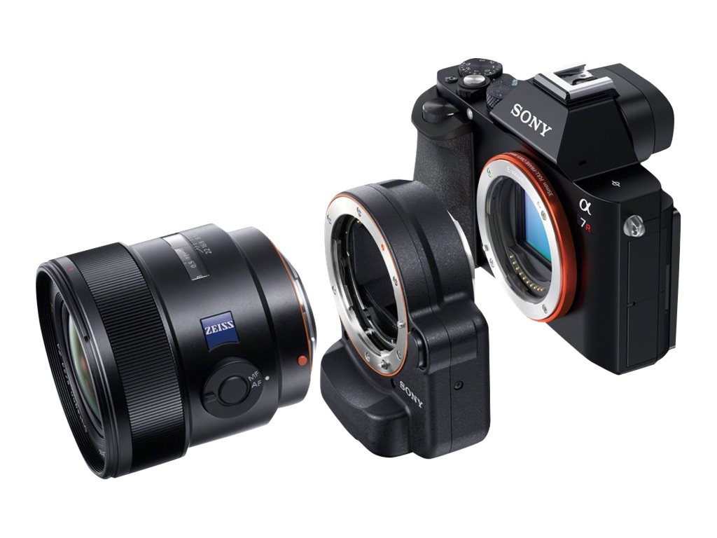 Sony A-to E-Mount FF Mount Adaptor with TMT