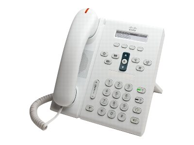 Refurb. Cisco Refurb. UC Phone 6921 PERP, Arctic White, Standard Cisco Warranty