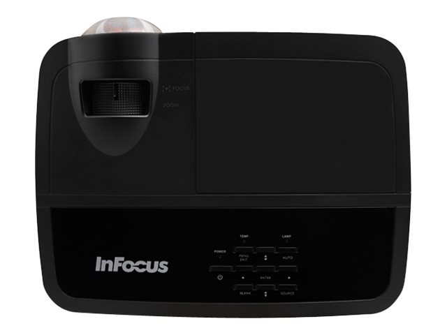 InFocus IN124STA XGA DLP Projector, 3300 Lumens, Black, IN124STA