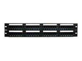 Belkin 48-port Cat 5e Patch Panel, C-PP5-48-F-BK, 227026, Patch Panels