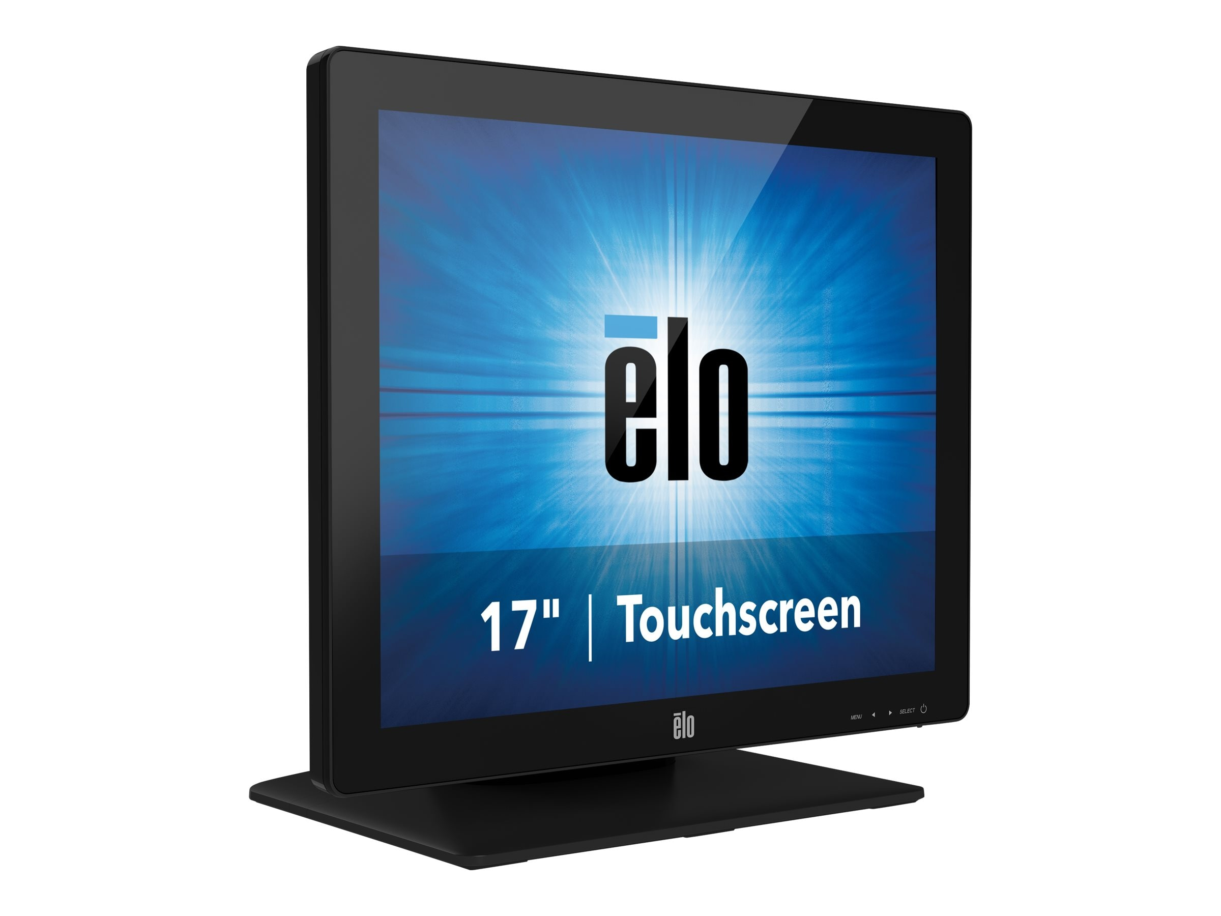 ELO Touch Solutions 17 1717L LED-LCD IntelliTouch Monitor, Black, E077464