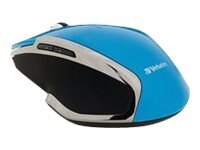 Verbatim Wireless Notebook 6-Button Deluxe Blue LED Mouse, Blue, 99016, 21811654, Mice & Cursor Control Devices