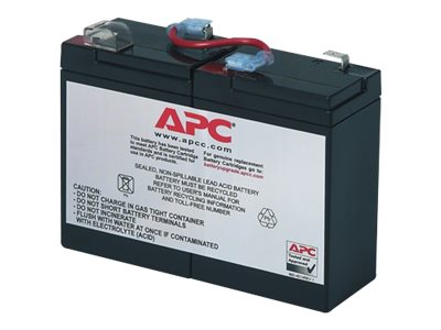 APC Replacement Battery Cartridge #1 for BK200 models, RBC1, 115381, Batteries - Other
