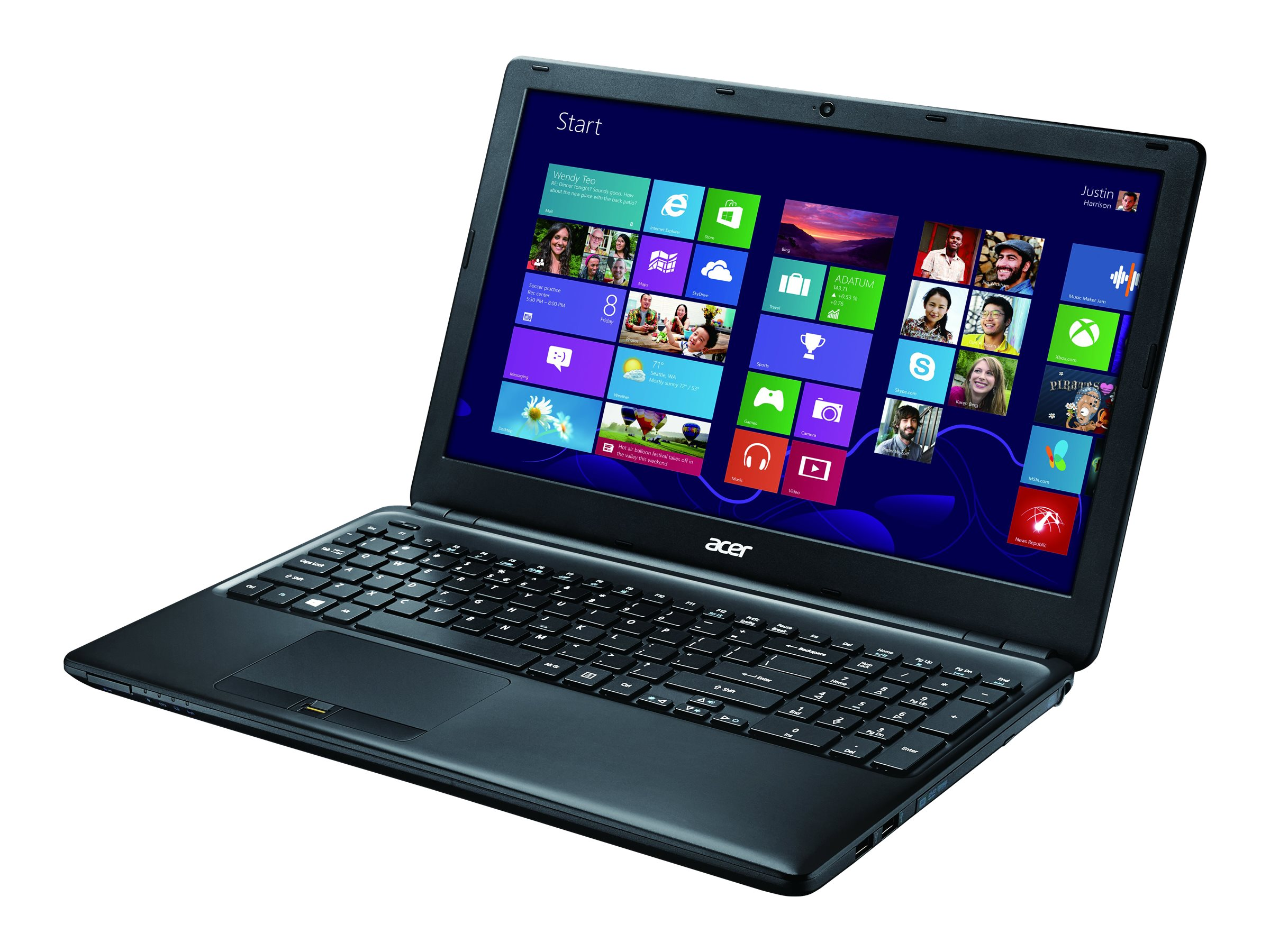 Acer TravelMate P455-M-5406 : 1.6GHz Core i5 15.6in display, NX.V8MAA.006, 17355238, Notebooks