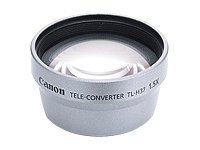 Canon TL-H37 - 1.5x Telephoto Converter Lens for Camcorders