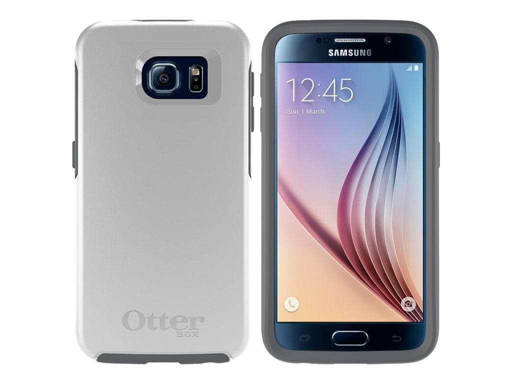 OtterBox Symmetry for Samsung Galaxy S6, B2B Pro Pack, Glacier, 77-52029, 26839154, Carrying Cases - Phones/PDAs