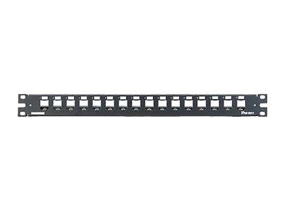 Panduit 16-Port Patch Panel (Black)