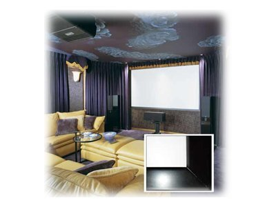 Draper Clarion Fixed Projection Screen, Matt White, 16:9, 92