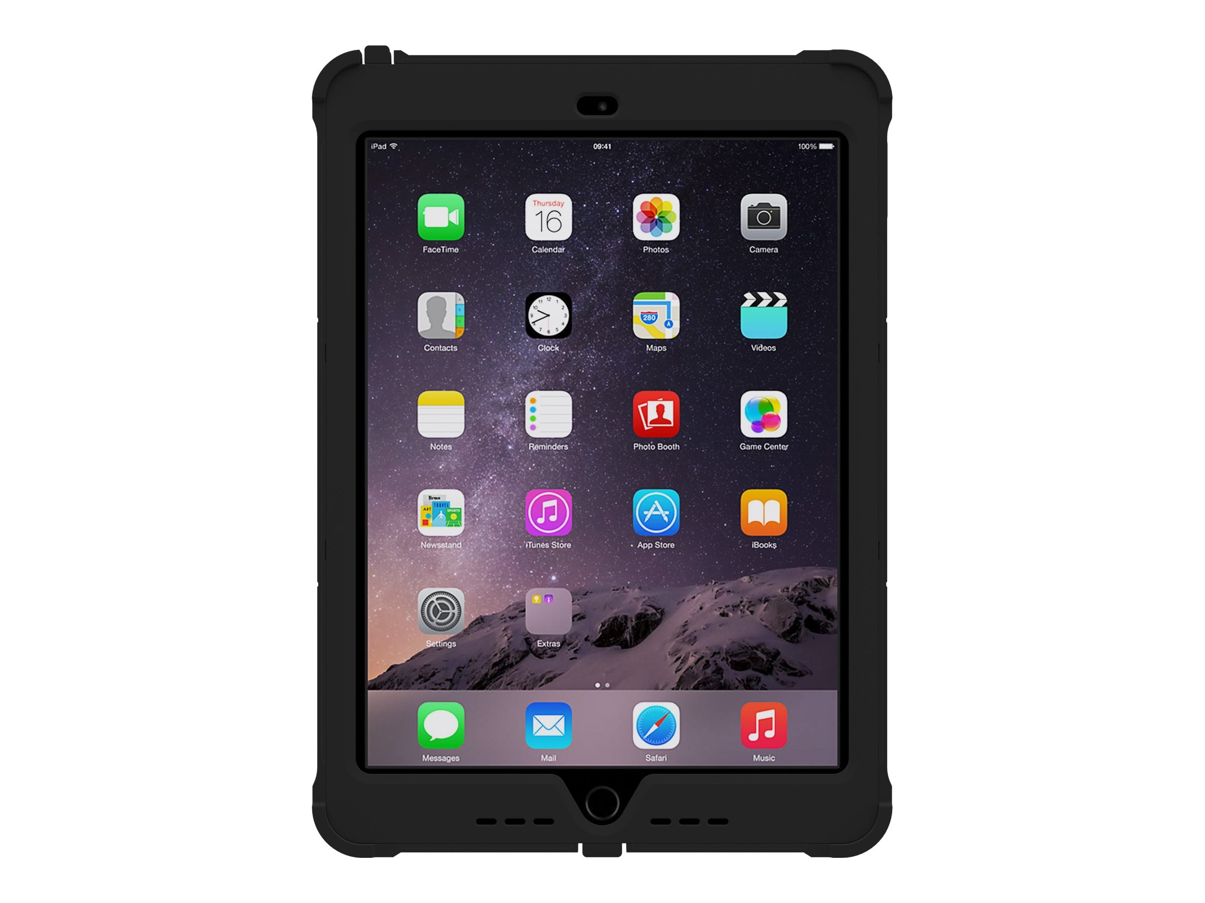 Trident Case 2015 Kraken AMS Case for iPad Air 2, Black, KN-APIPA2-BK000
