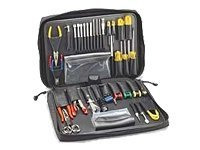 Jensen Tools Kit in Black Ballistic Nylon case, JTK-2900, 15460991, Network Tools & Toolkits