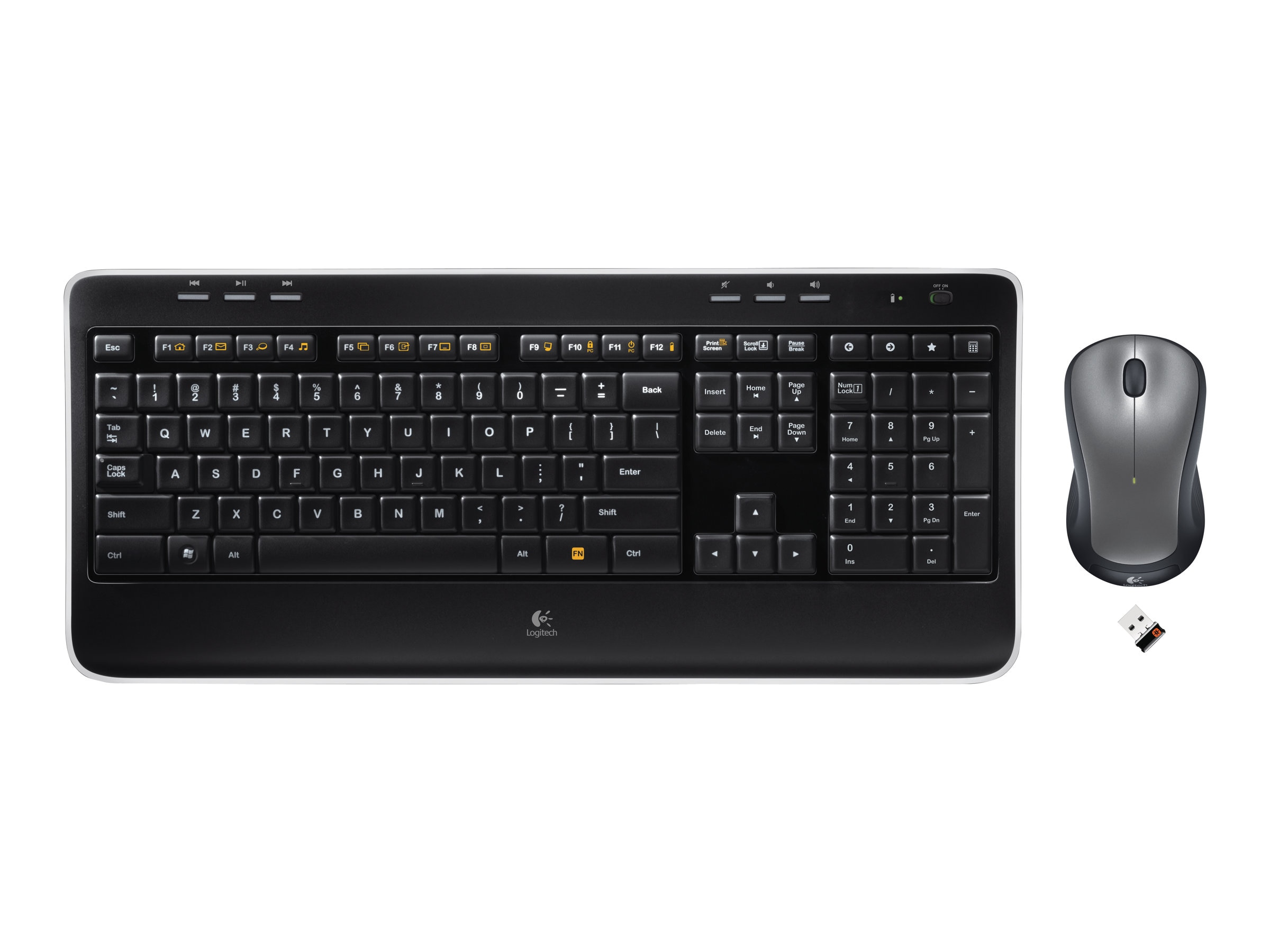Logitech Wireless Combo MK520, 920-002553, 11711836, Keyboard/Mouse Combinations