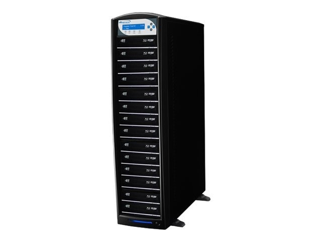 Vinpower SharkBlu Blu-ray DVD CD Daisy Chain 1:15 Duplicator w  Hard Drive, SHARKBLU-S15T-DC-PIO, 15130406, Disc Duplicators