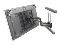 Chief Manufacturing Dual Swing Arm Wall Mount for Large Flat Panels, Black, PNR2045B, 7137464, Stands & Mounts - AV