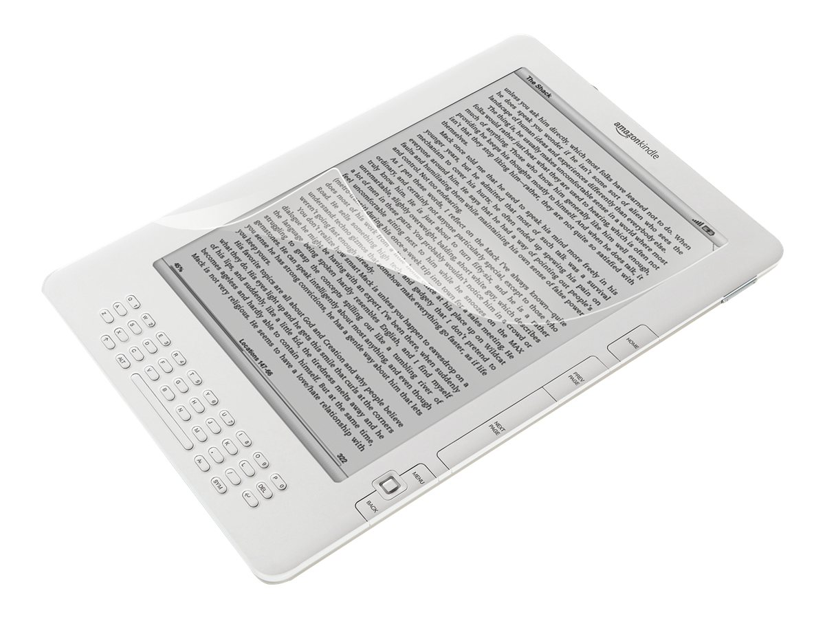 Targus Anti-Bacterial Screen Protector for Kindle DX, AWV1219US, 12428768, Protective & Dust Covers