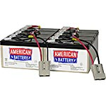 American Battery Replacement Battery Cartridge RBC12 for APC SU2200, SU5000 models, RBC12, 462072, Batteries - Other