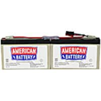 American Battery Replacement Battery Cartridge RBC18 for APC PS250, PS450, SC250RM, SC450RM models, RBC18, 462074, Batteries - Other