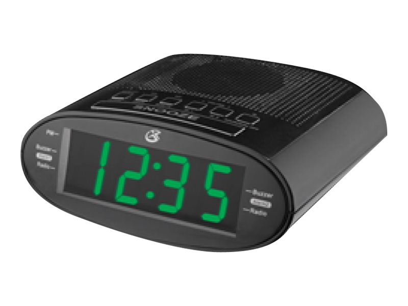 GPX Clock Radio w  1.2 LED Display, C303B