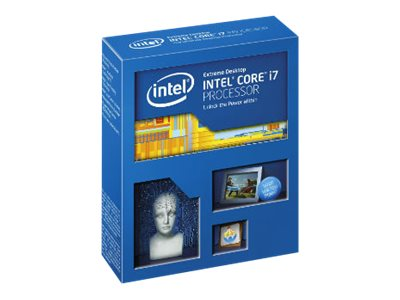 Intel Processor, Core i7-5820K 3.3GHz 15MB 140W, Box, BX80648I75820K, 17601873, Processor Upgrades