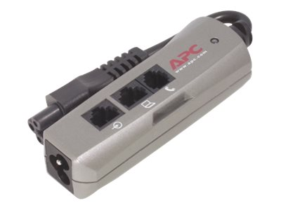 APC SurgeArrest NotebookPro, IEC 320 C6, with RJ-11 and RJ-45 Protection, PNOTEPROC6, 5312311, Surge Suppressors