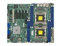 Supermicro Motherboard, E5-2600, C602, SATA, IPMI RETAIL PACK
