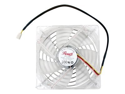 Rosewill 120mm 2 Ball Bearing Blue LED Case Fan with Fan Controller Set