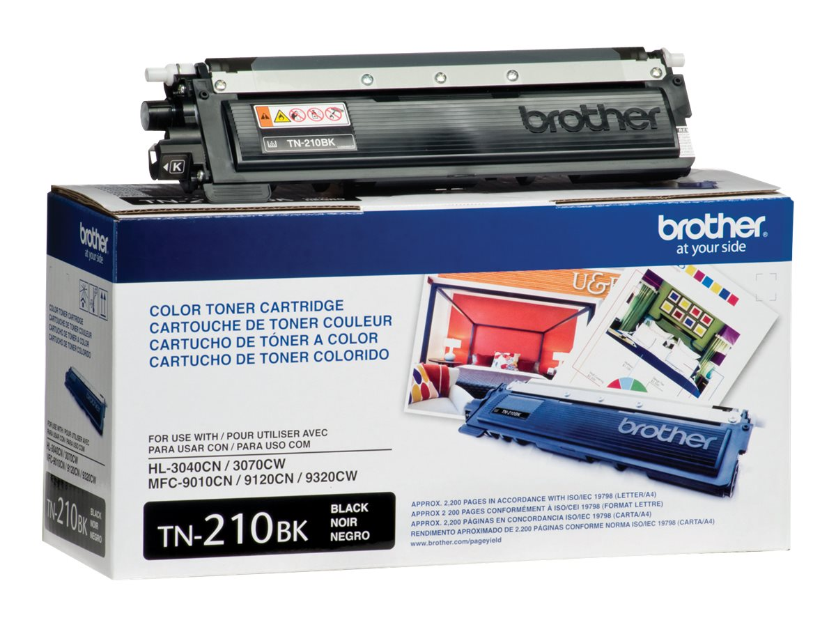 Brother Black TN210BK Toner Cartridge