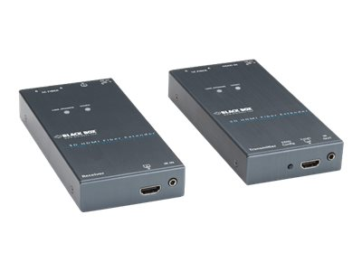 Black Box 3D HDMI Fiber Extender, VX-HDMI-FO, 15757081, Video Extenders & Splitters