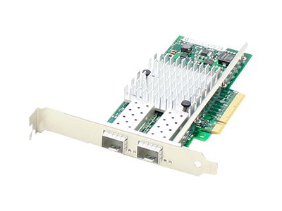 ACP-EP 10Gbs Dual Open SFP+ Port PCIe x8 NIC Dell 430-4435, 430-4435-AO