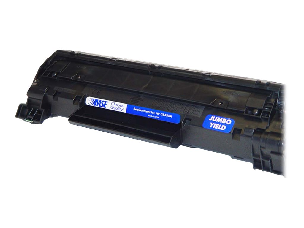 CB436A Black Extra High Yield Toner Cartridge for HP