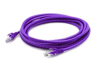 ACP-EP CAT6 Patch Cable, Purple, 1ft, ADD-1FCAT6NB-PRP
