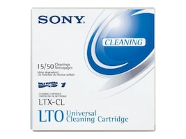 Sony LTO Ultrium Universal Cleaning Cartridge, LTXCLWW, 5837301, Tape Drive Cartridges & Accessories