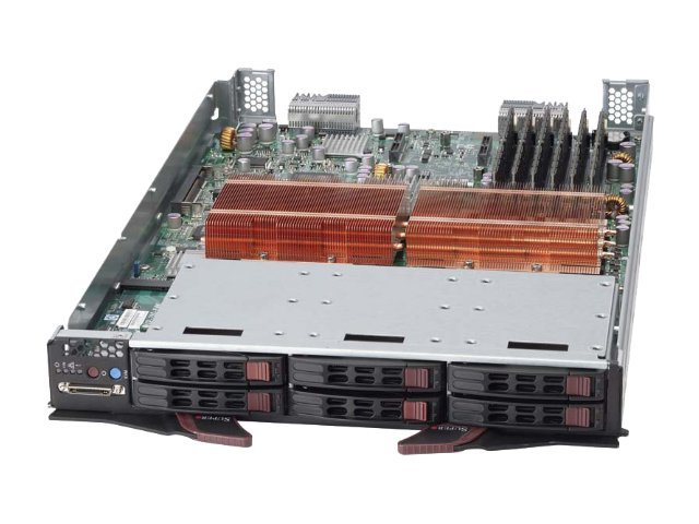 Supermicro Processor Blade SBI-7125C-S3, DP Xeon 5100, 48GB Max.