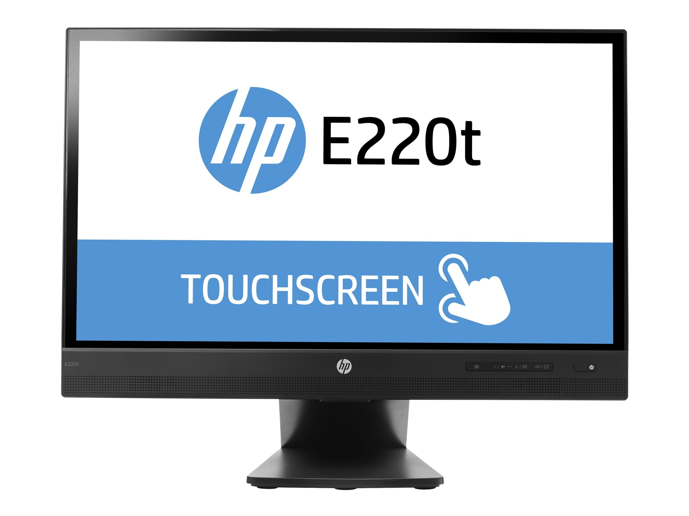 HP Promo 21.5 E220T Full HD LED-LCD Touchscreen Monitor, Black, L4Q76A8#ABA, 30734742, Monitors - LED-LCD