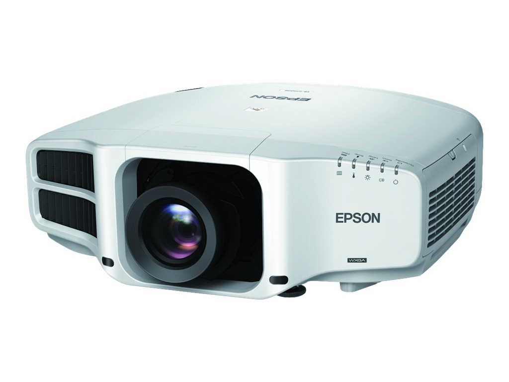 Epson Pro G7200W WXGA 3LCD Projector with Standard Lens, 7500 Lumens, White, V11H751020