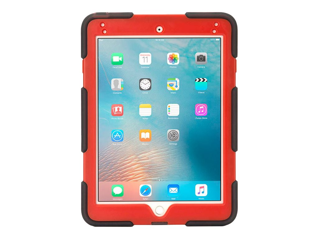 Griffin Survivor All-Terrain for Apple iPad Air 2, Smoke Tomato