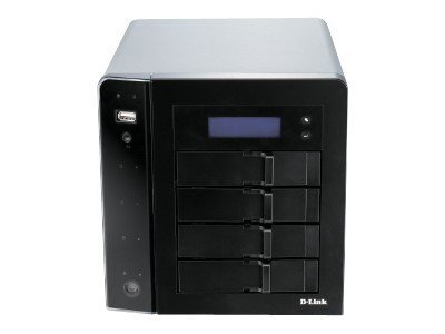 D-Link ShareCenter Pro 1250 S-Series 4-Bay Desktop Network Storage Device, DNS-1250-04, 13334544, Network Attached Storage
