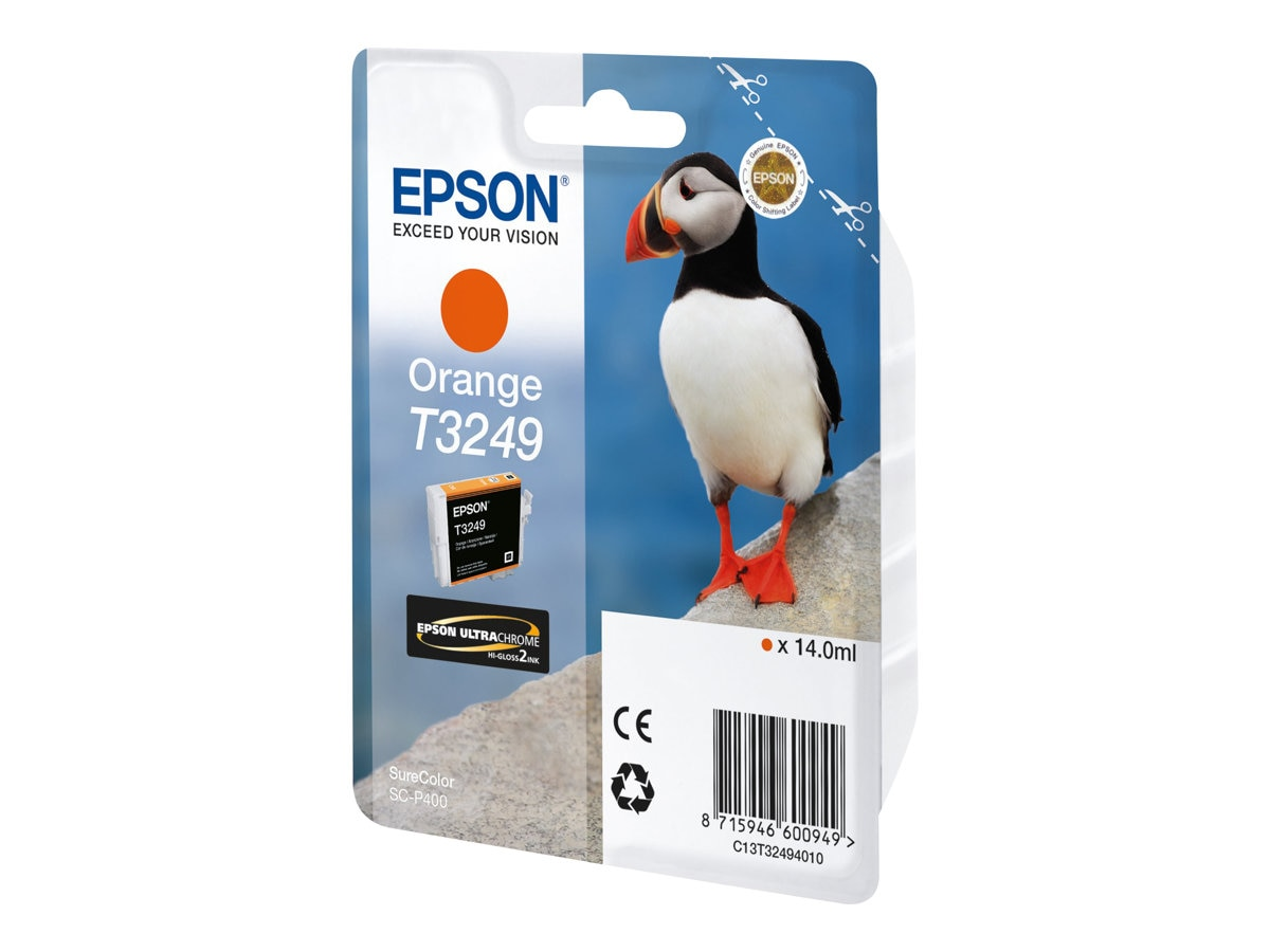 Epson 324 Orange Ink Cartridge, T324920, 30889470, Ink Cartridges & Ink Refill Kits