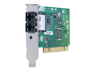 Allied Telesis 32-bit 100Mb s Fast Ethernet Fiber Adapter Card SC Center, AT-2701FXA/SC-901, 14455541, Network Adapters & NICs